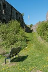 Pause in der Burg