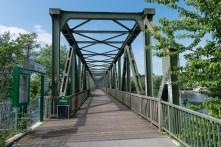 Ehemalige Eisenbahnbrücke über den See