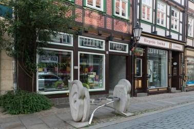 Optikerladen in der Burgstrasse