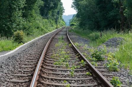 Überquerung der Bahnlinie