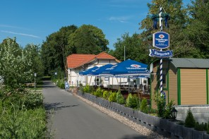 Biergarten am alten Bahnhof