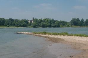 Zahlreiche Buhnen gab es am Ufer