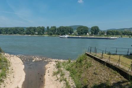 Mündung des Godesbaches