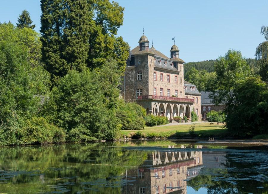 Schloss Gimborn 2018 nach der Wanderung