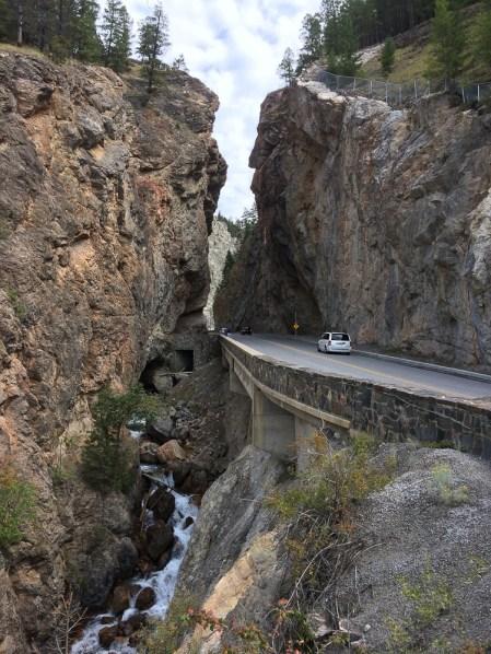 Sinclair Canyon bei Radium Hot Springs