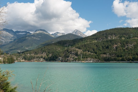 Green Lake bei Whistler