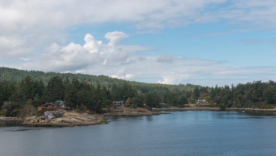 Viele Inseln waren bewohnt