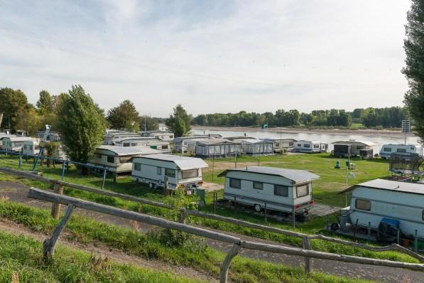 Campingplatz am Rhein