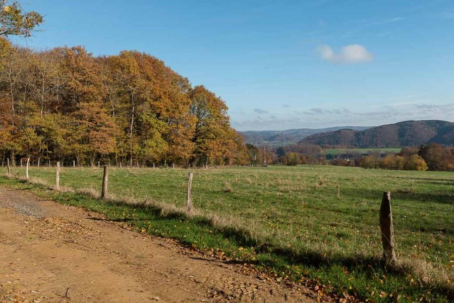 Fernblick in's Siegerland