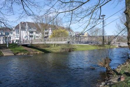 Füssgängerbrücke über die Wupper