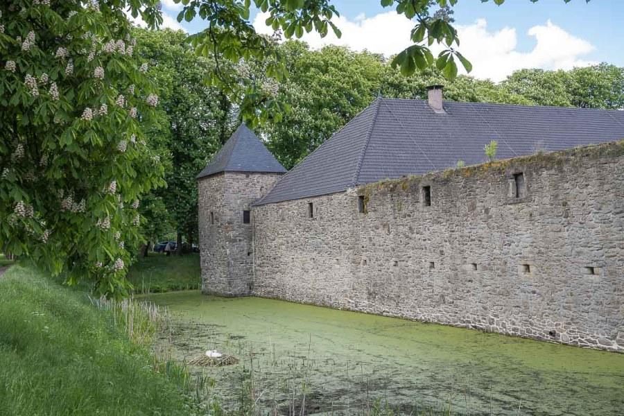 Wassergraben von Haus Kemnade