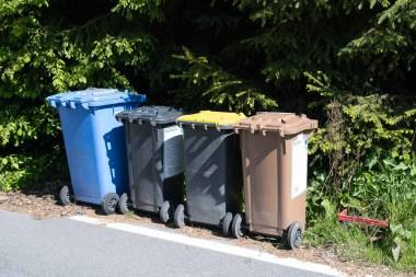Mülltrennung in Friesenhagen