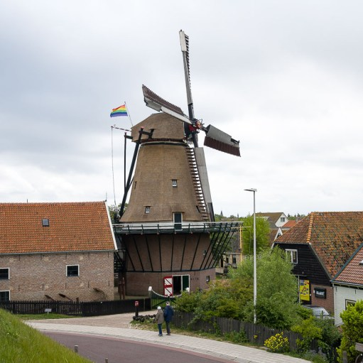 Mühle in Oudeschild