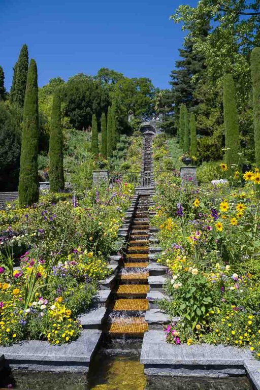 Italienische Blumentreppe