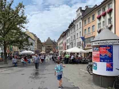 Fussgängerzone in Konstanz