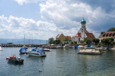 Hafen in Wasserburg