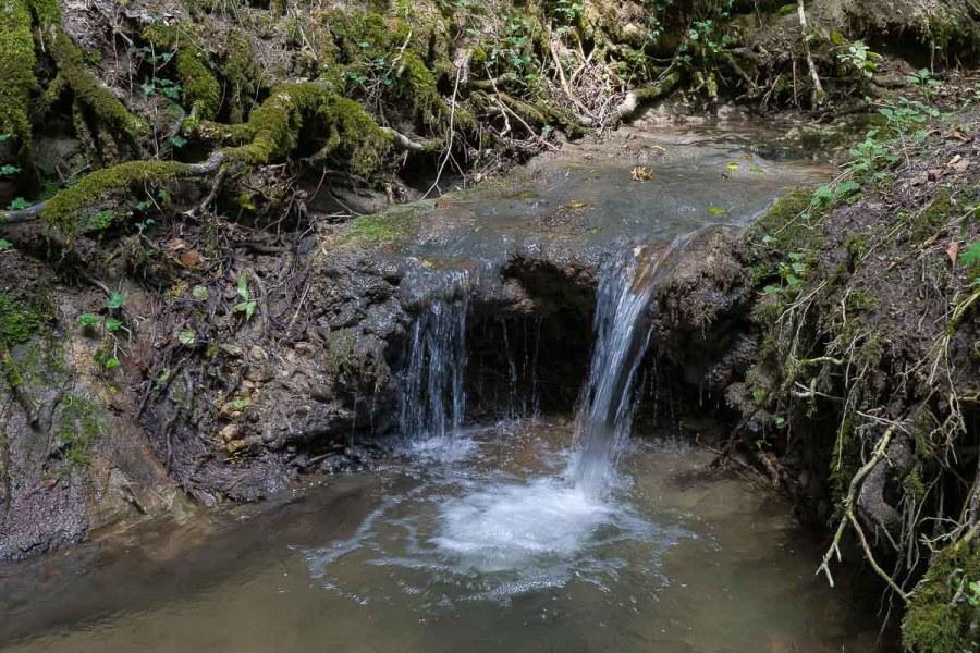 Mini Wasserfall in der Klingenbachschlucht