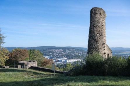 Hauptturm der Burgruine