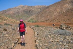 Petra auf dem Rückweg