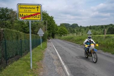Ortsausgang von Metzholz