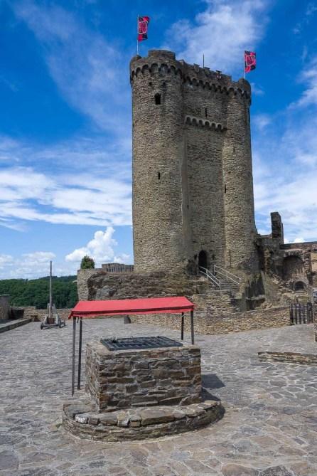 Der grosse Turm war gesperrt