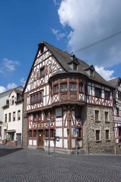 Fachwerkhaus am Marktplatz in Rhens