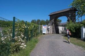 Eingang in Rommersdorf
