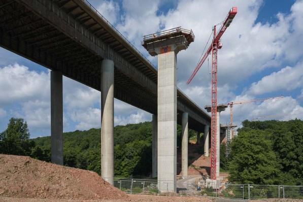 Brückenerweiterung an der A7