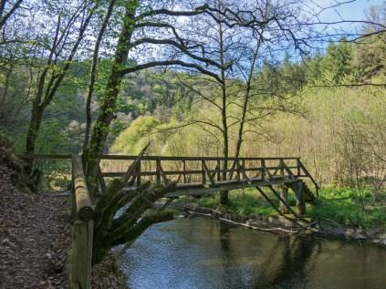 Die letzte Brücke der Wanderung