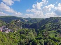 Altenahr und Burg Are