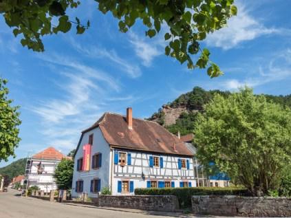 Obersteinbach mit Blick auf den Felsen