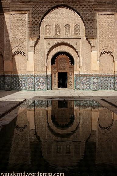 Marrakech - Medersa Ben Youssef