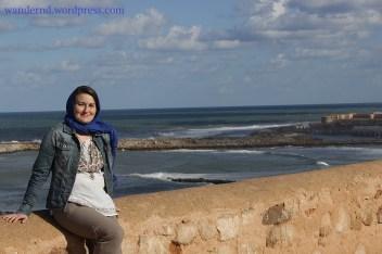 am Atlantik in Rabat