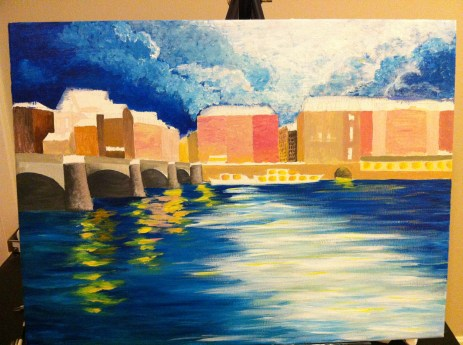 Current status of the painting. Still lots to do!