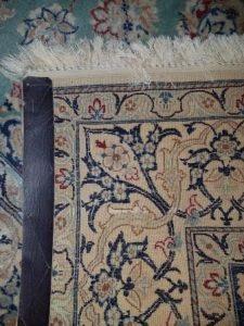 Back of Qashqai Persian Rug