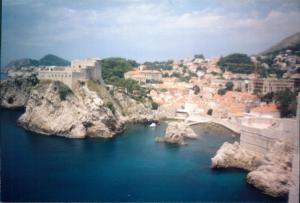 Medieval fortresses, Lovrijenac & Bokar, Dubrovnik, Croatia Photo CJ July 2002