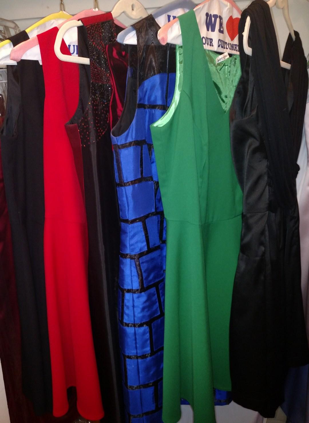 custon dresses