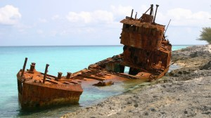 Shipwreck Bimini, Bahamas