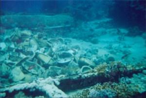 Toilet Bowls and Sinks Yolanda Wreck Ras Muhammed National Park Sharm el Sheik, Egypt 2001