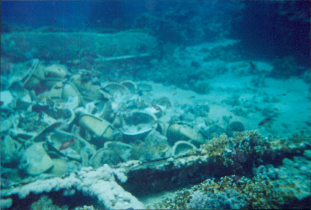 Toilet Bowls and Sinks Yolanda Wreck Ras Muhammed National Park Sharm el Sheik, Egypt 2001