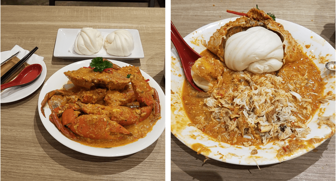 Chilli Crab at Momma Kong's Singapore