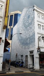 Street Art Mosque St Chinatown Singapore