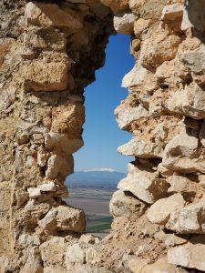 View of the Northern Mountains Anavarza Kalesi Ruins