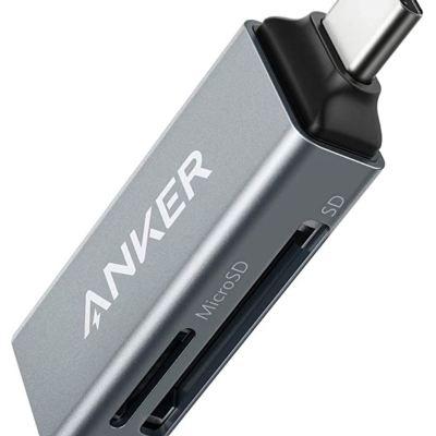 Anker SD Card Reader, 2-in-1 USB C Memory Card Reader
