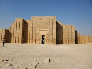 Entry Hall to Step Pyramid of Djoser