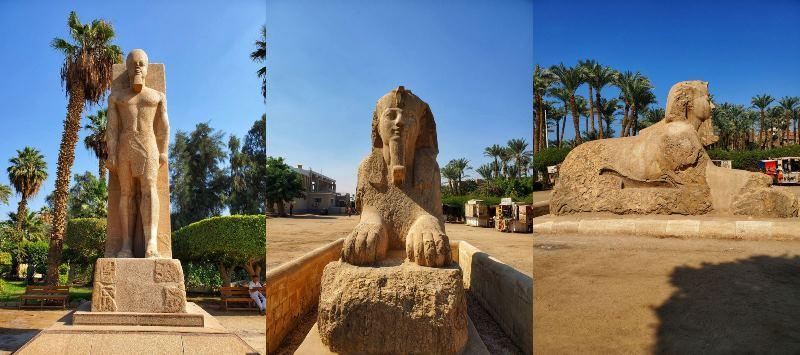 Open Air Museum Mit Rahina Memphis, Egypt
