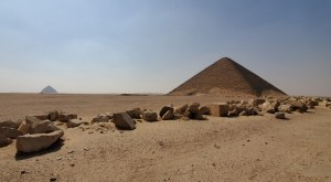 Red and Bent Pyramids at Dashur, Egypt