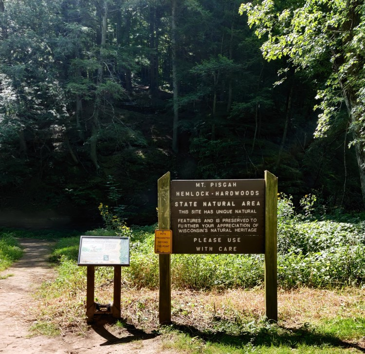 Natural area sign