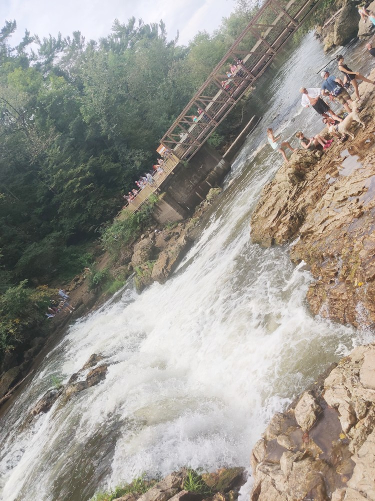 View from the waterfall