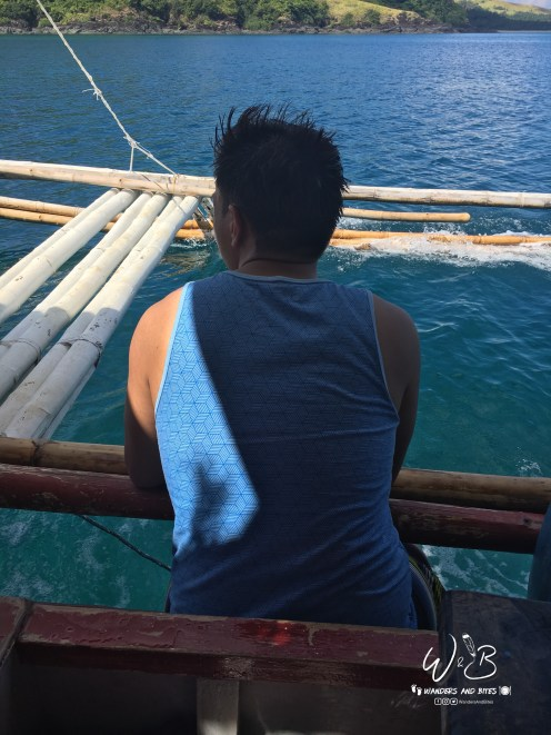 Moment in Boat